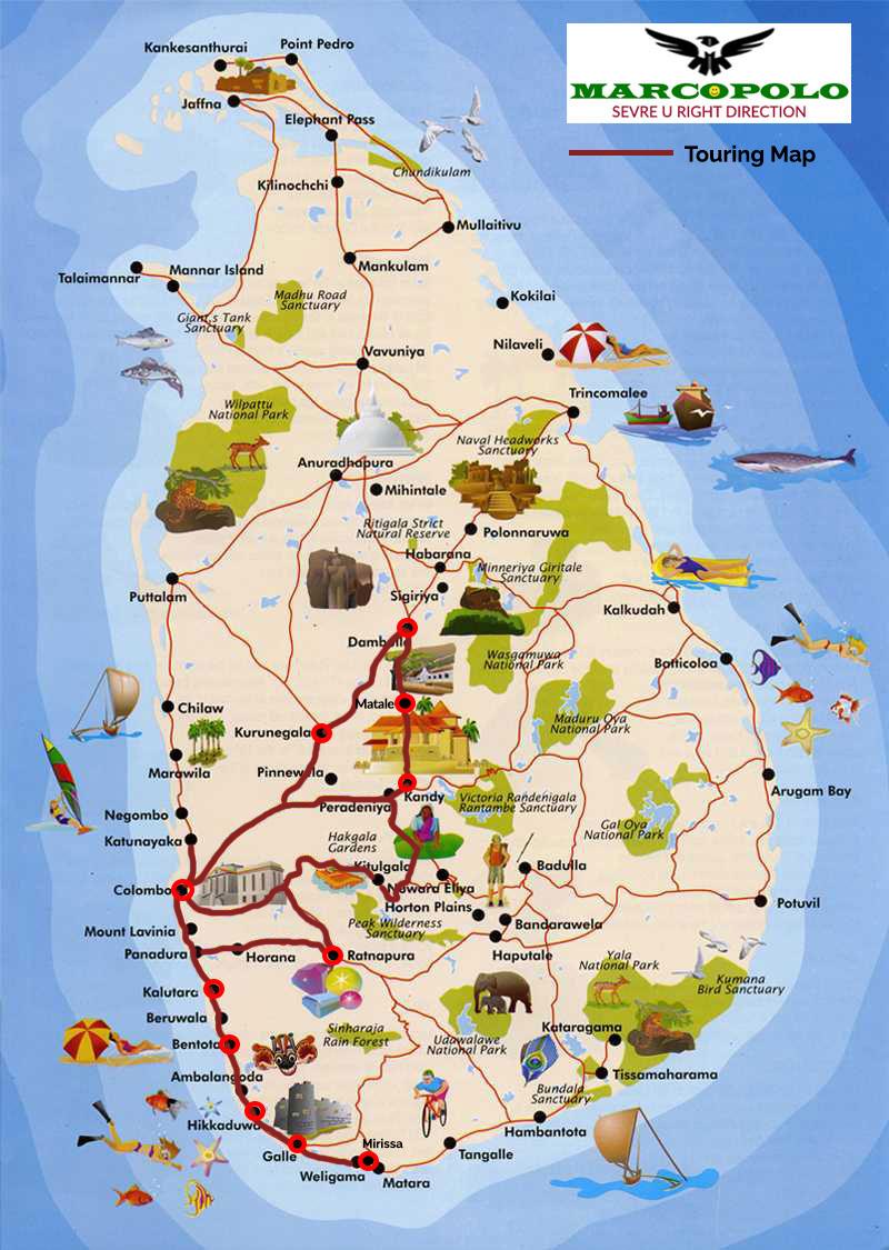 Ref No: 01 SL – Day Tours Sri Lanka
