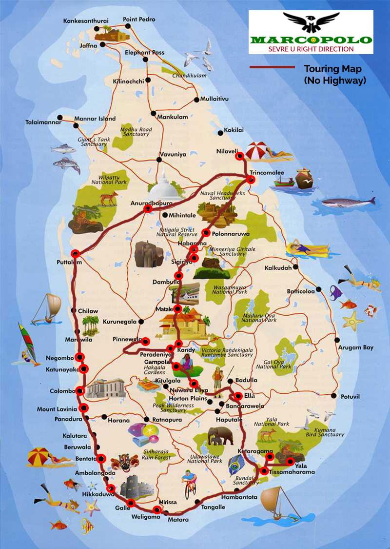 Ref No: 07 AD – Adventure Blue Sky Island Sri Lanka