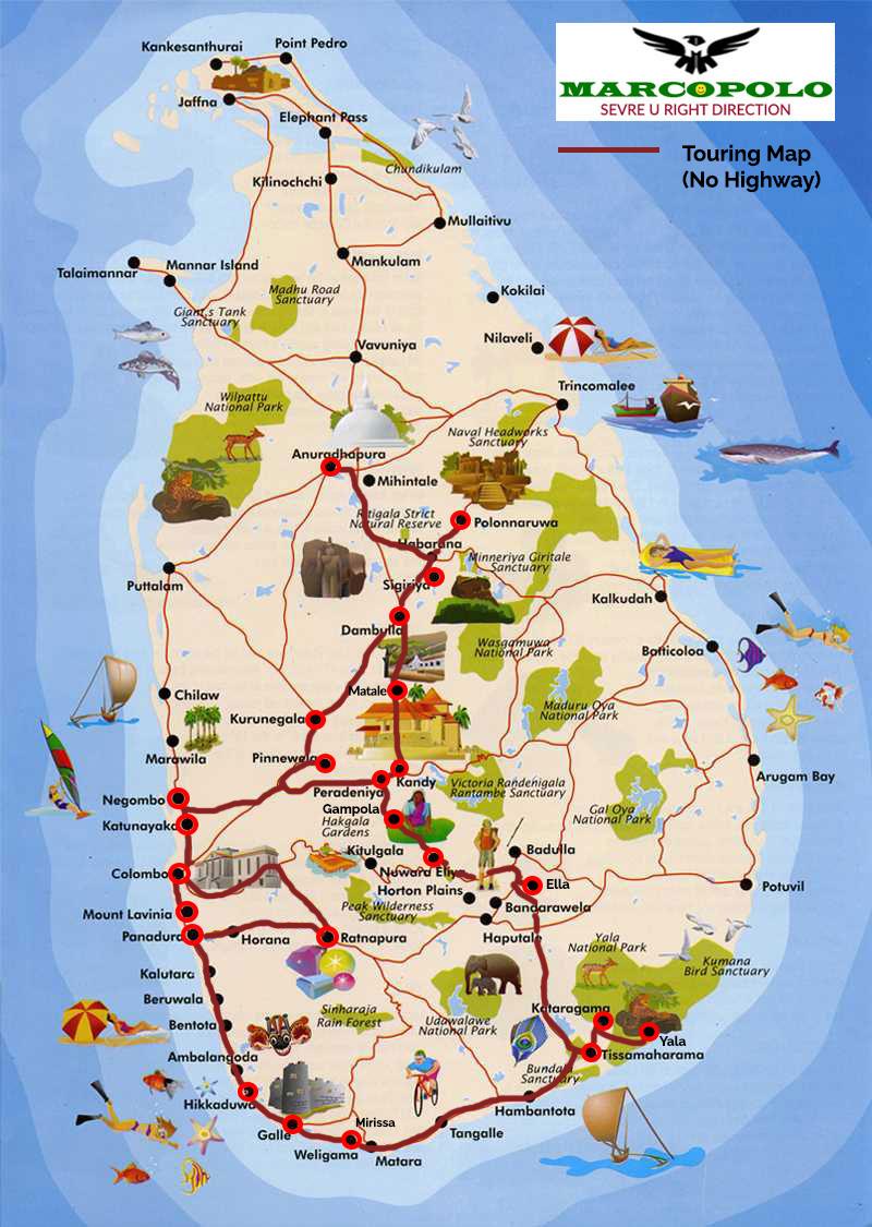Ref No: 04 AD – Adventure  Jungle Island Sri Lanka