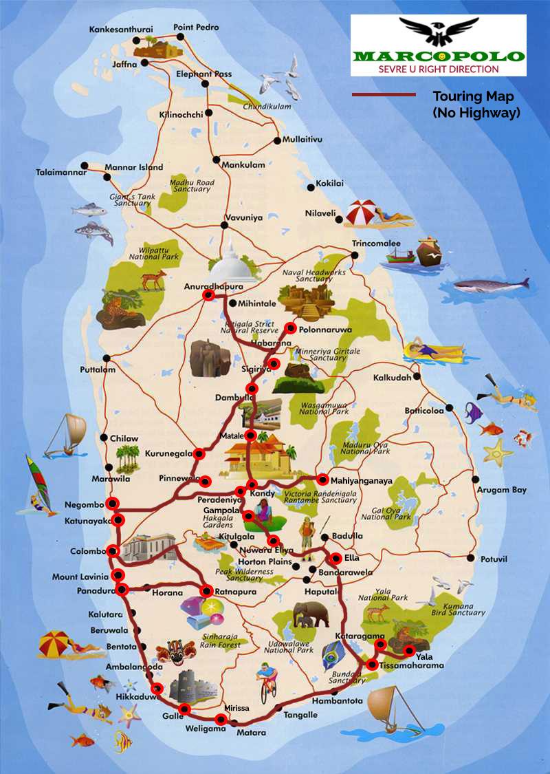 Ref No: 06 AD – Adventure Tropical Island Sri Lanka