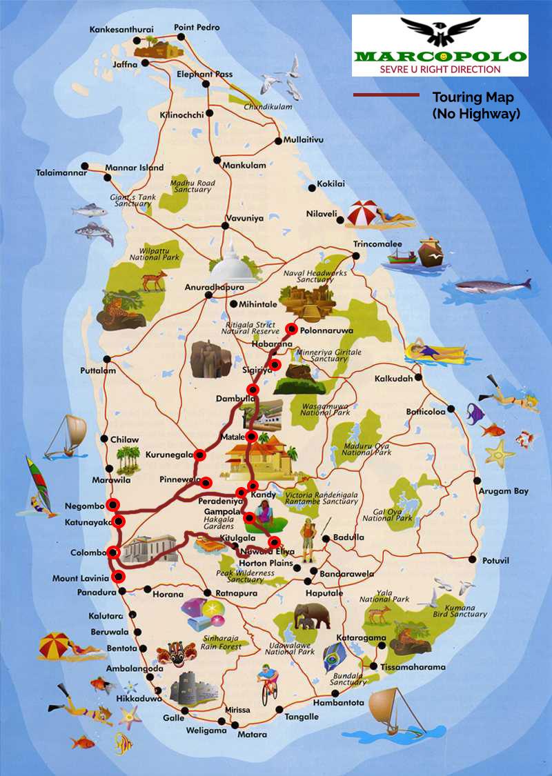 Ref No: 02 AD – Adventure Blue Ocean Island Sri Lanka